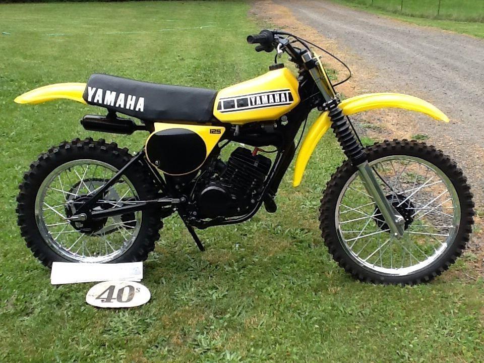 1977 yamaha yz125d vintage dirt pinterest dirt for 1973 yamaha yz80