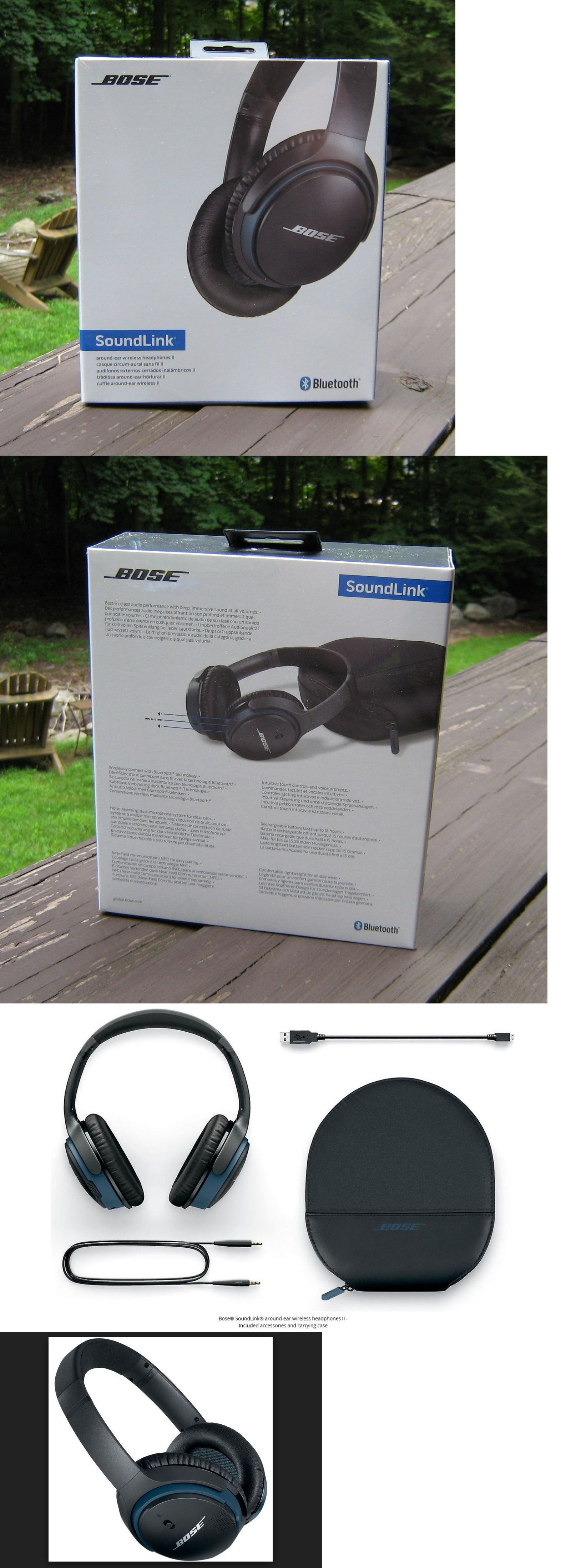 Headsets and Earpieces  Bose® - Soundlink® Wireless Around-Ear Headphones Ii  - 227c7bfb305b5