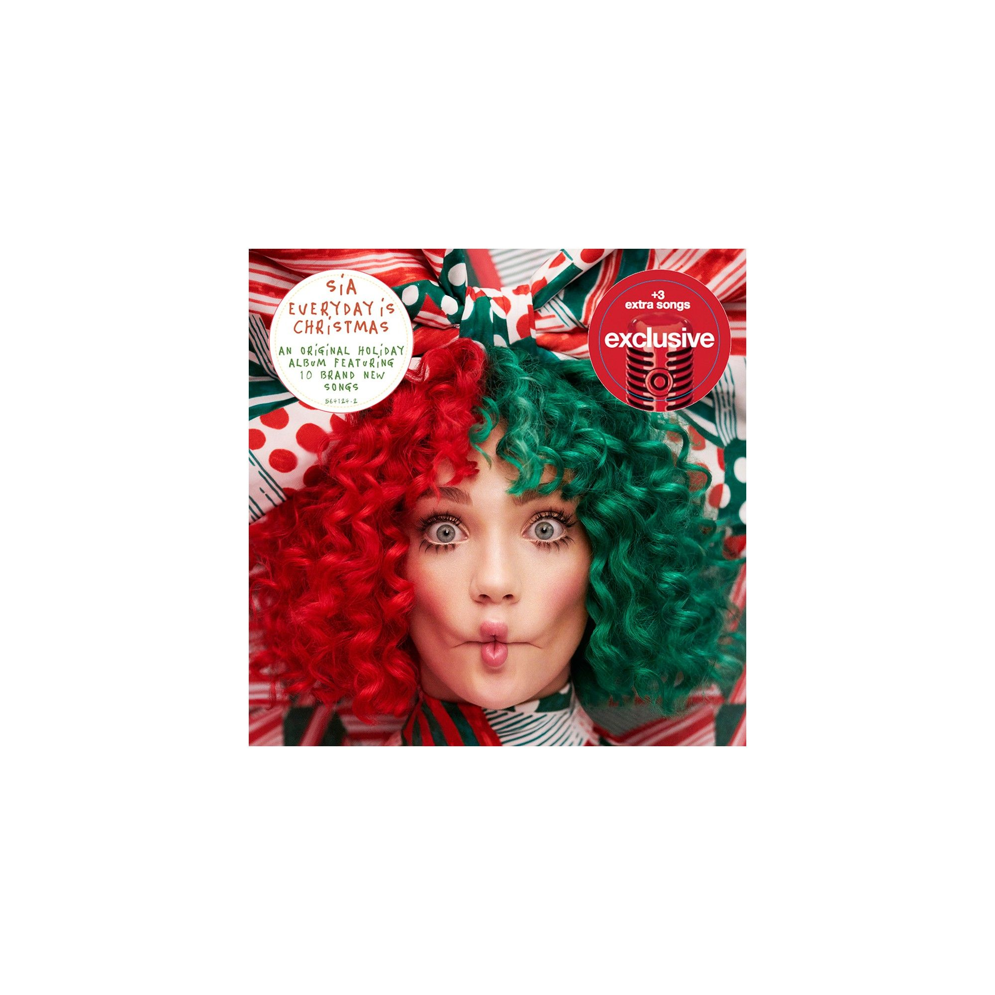 Sia Every Day Is Christmas Target Exclusive Vinyl Lights