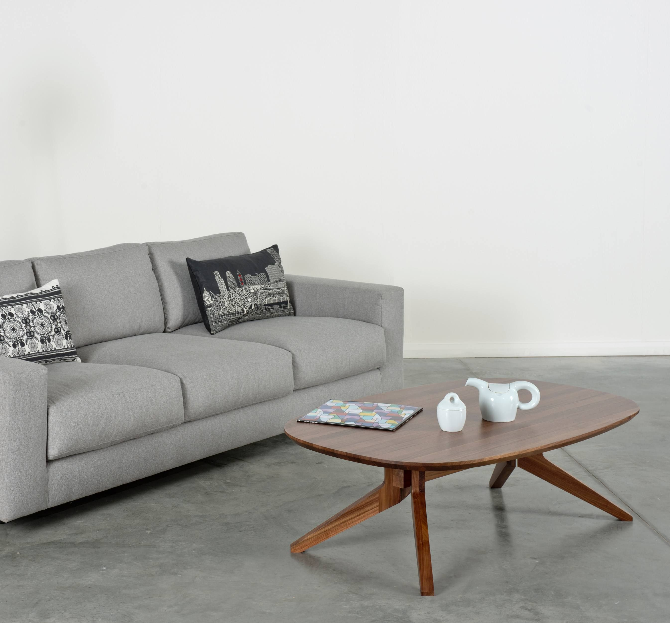 Hilton Furniture Living Room Sets Wall Clock Position In Cross Oval Coffee Table Home Furnishings Pinterest The By Matthew Repurposes Leg Detail Of Extending Underneath Solid Wood Top