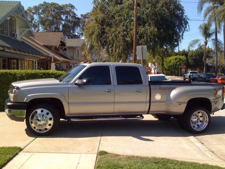 Chevy 3500 Dually Crew Cab Diesel Long Bed I Miss My Truck Retro Cars Duramax Work Truck