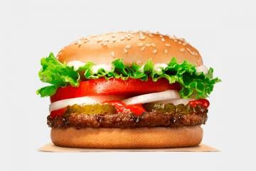Burger King Menus In Usa Fastfoodinusa Com Fast Healthy Meals Burger King Whopper Hungry Girl Recipes