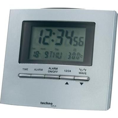 Techno Line Funk-Tischuhr WT 250 (L x B x H) 45 x 90 x 80 mm