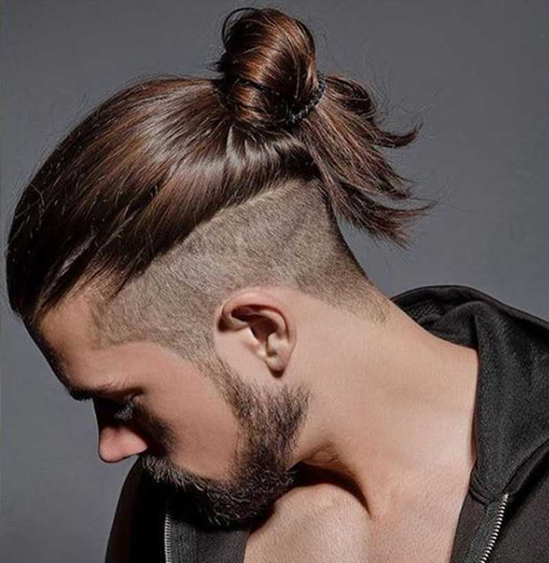 Men S Long Hairstyles Wedding: 29 Man Bun Undercut Ideas To Get More Inspiration