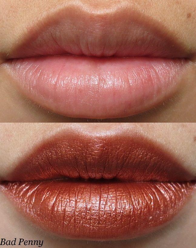 Portland Black Lipstick Company Lipstick in Bad Penny