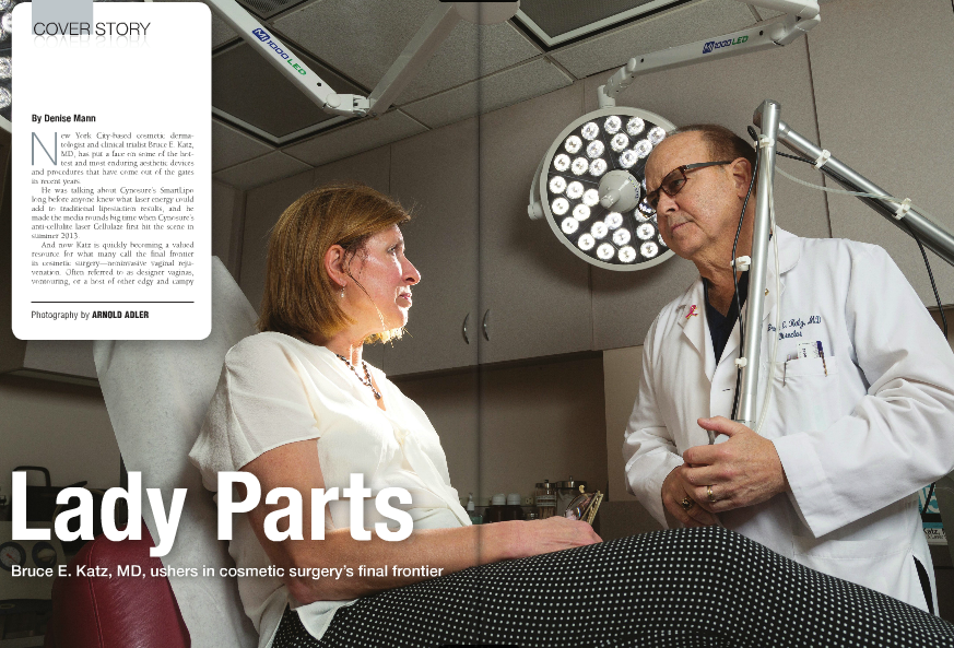 Dr. Katz is featured in the new issue of Plastic Surgery