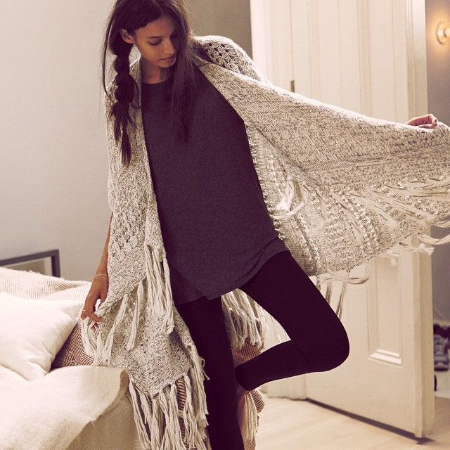 Awesome blanket cardigan