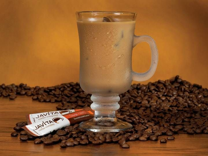 javita coffee tastes wonderful warm or cold! Javita - Better health a cup at the time!