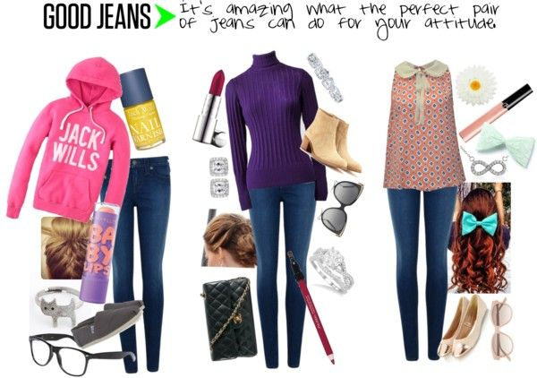 """""""Good Jeans ;) ***"""" by fashbashdoll ❤ liked on Polyvore"""