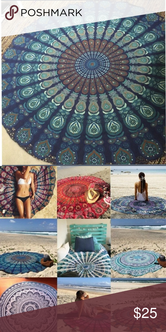 Beach cover up/blanket Beach cover up/blanket. Poly blend lightweight fabric Boutique Accessories Scarves & Wraps