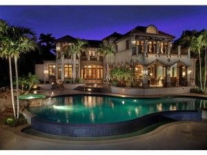 11 homes for sale over 10 000 000 in naples fl in port for Most beautiful homes in florida