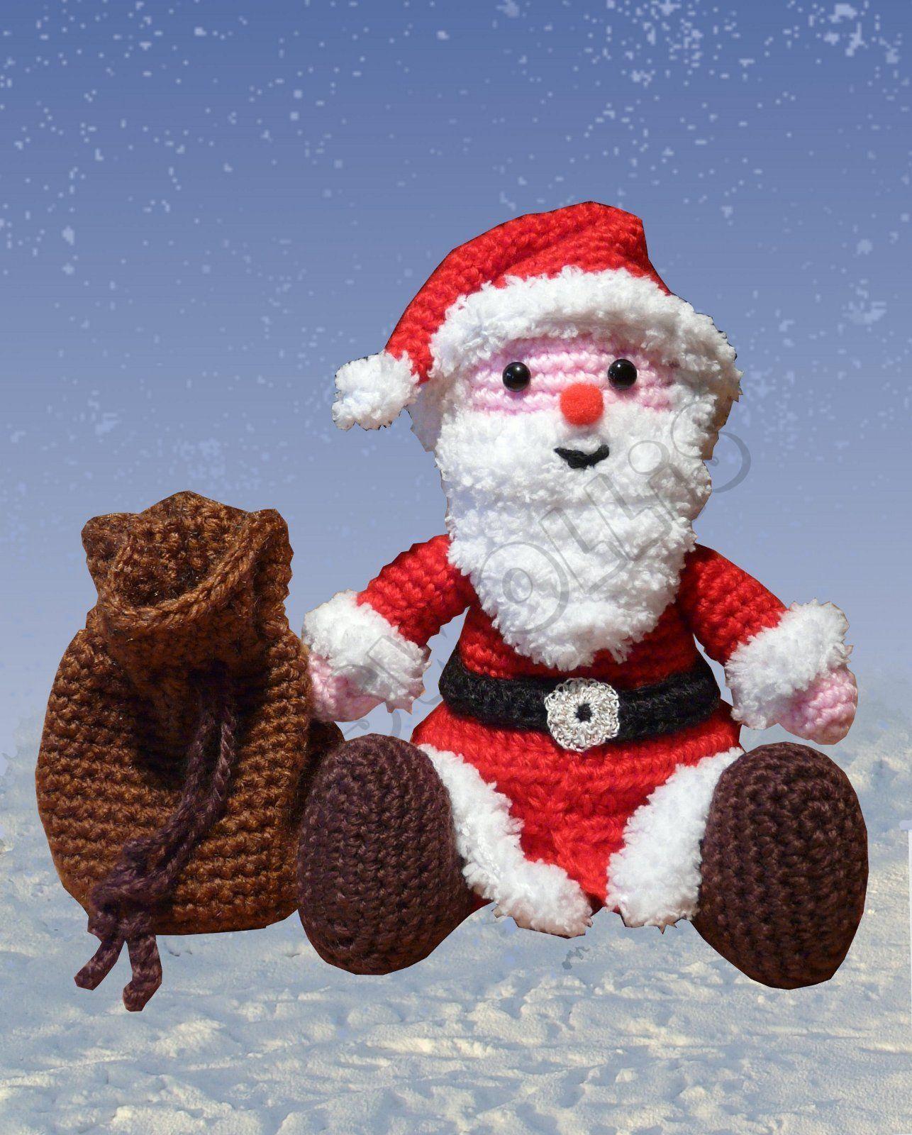 Der kleine Weihnachtsmann ist ein kuscheliger Begleiter in der ...