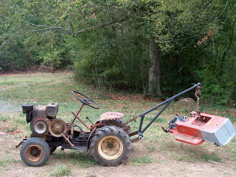 Diy Tractor Accessories : Homemade tractor project pinterest