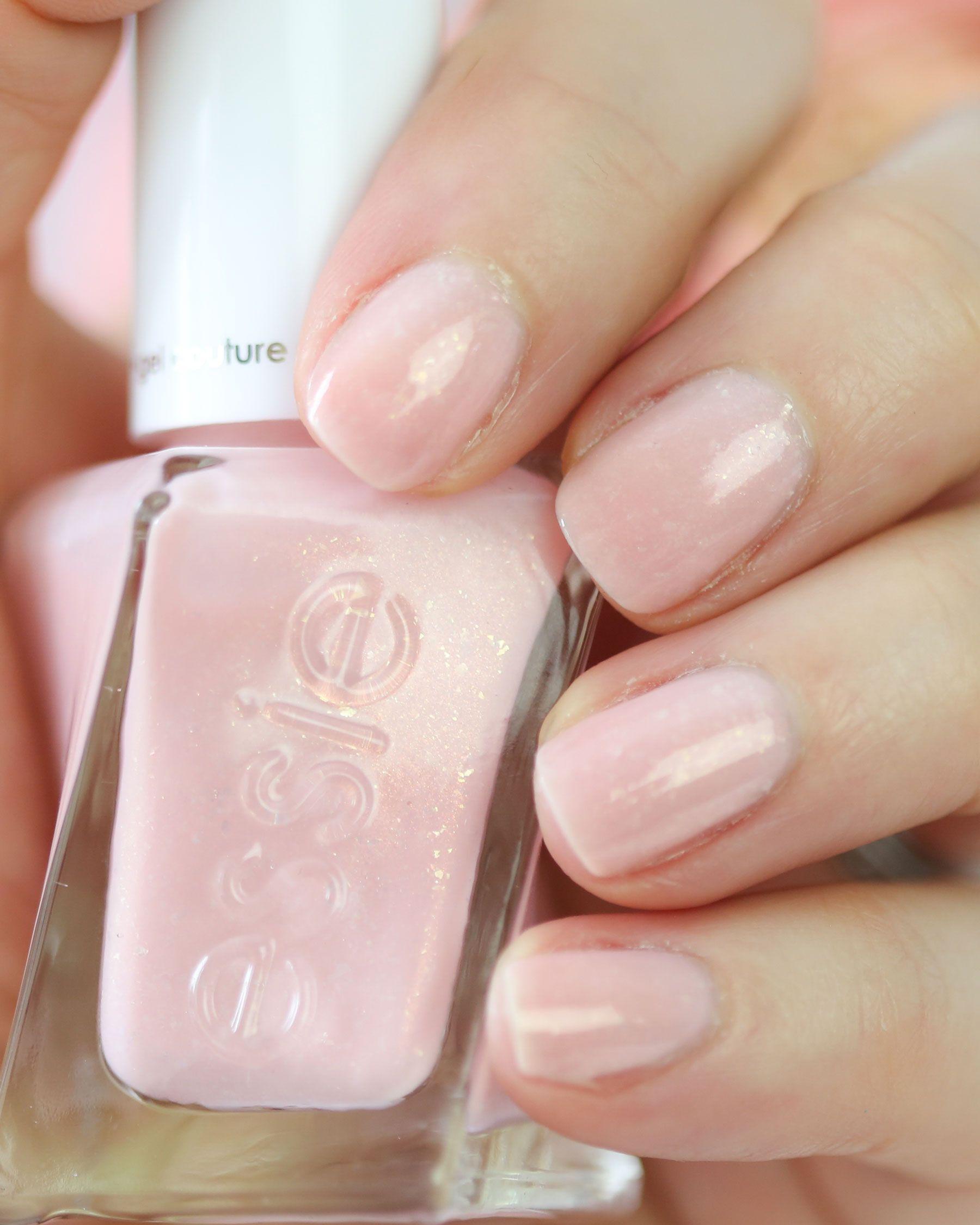 essie gel couture bridal x Monique Lhuillier Blush Worthy | Nails ...