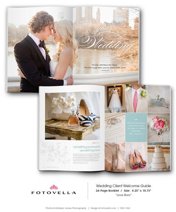 Wedding Photography Marketing Brochure Magazine by FOTOVELLA