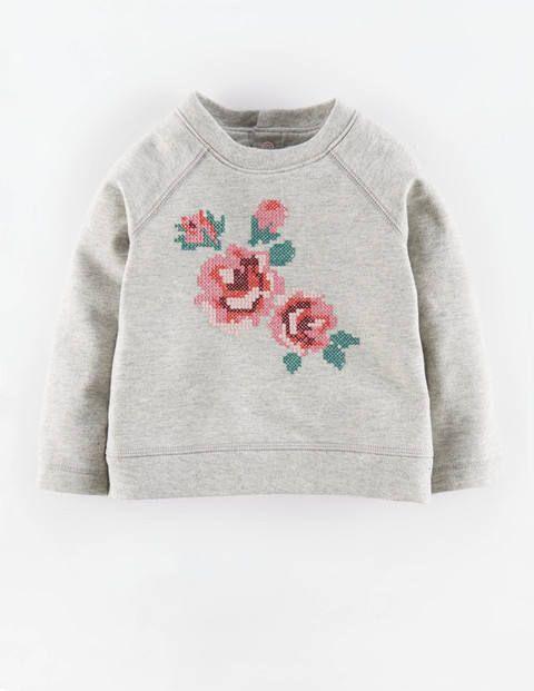 Gem tliches sweatshirt mit kreuzstich boden frida for Baby boden mode