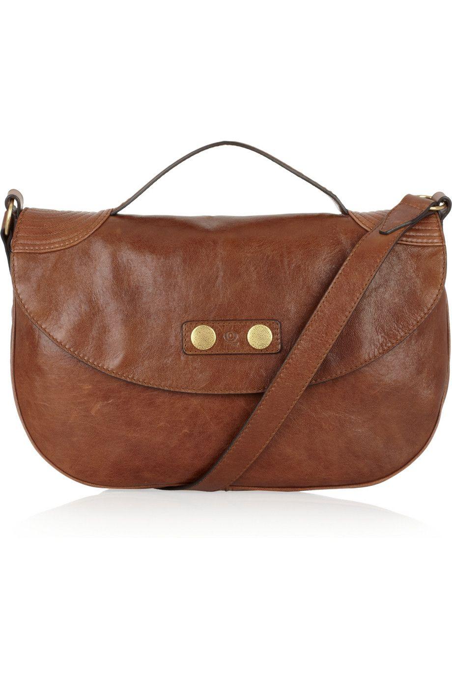 8172e5f363 The Cross Body Bag --  Alexander McQueen Faithful leather satchel ...