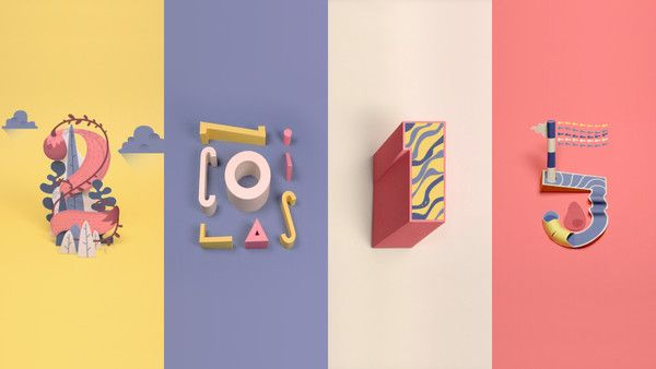 <p>Mixture of Paper sculpture and 2D animation to launch this new creative year !</p>
