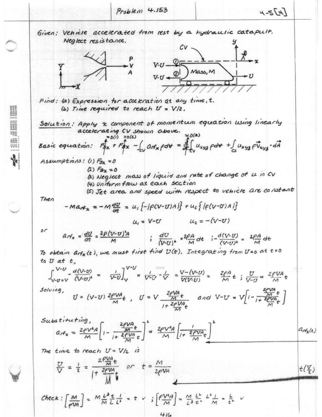 [Solution manual] fluid mechanics fox & mcdonald