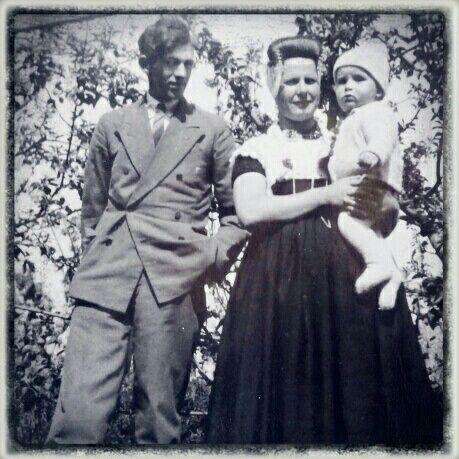 Opa en Oma met pa....