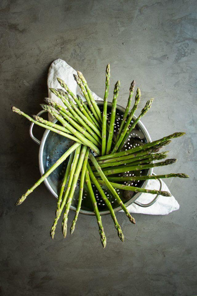Make the most of this beautiful, seasonal asparagus by roasting it in balsamic vinegar and lemon jui...