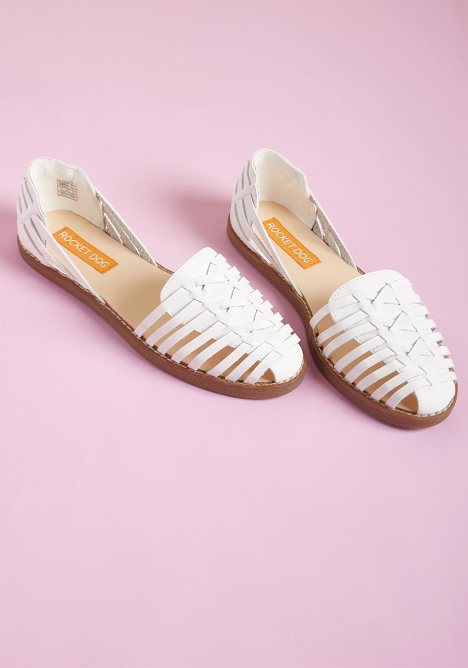 Minimalist shoes, Woven leather sandals