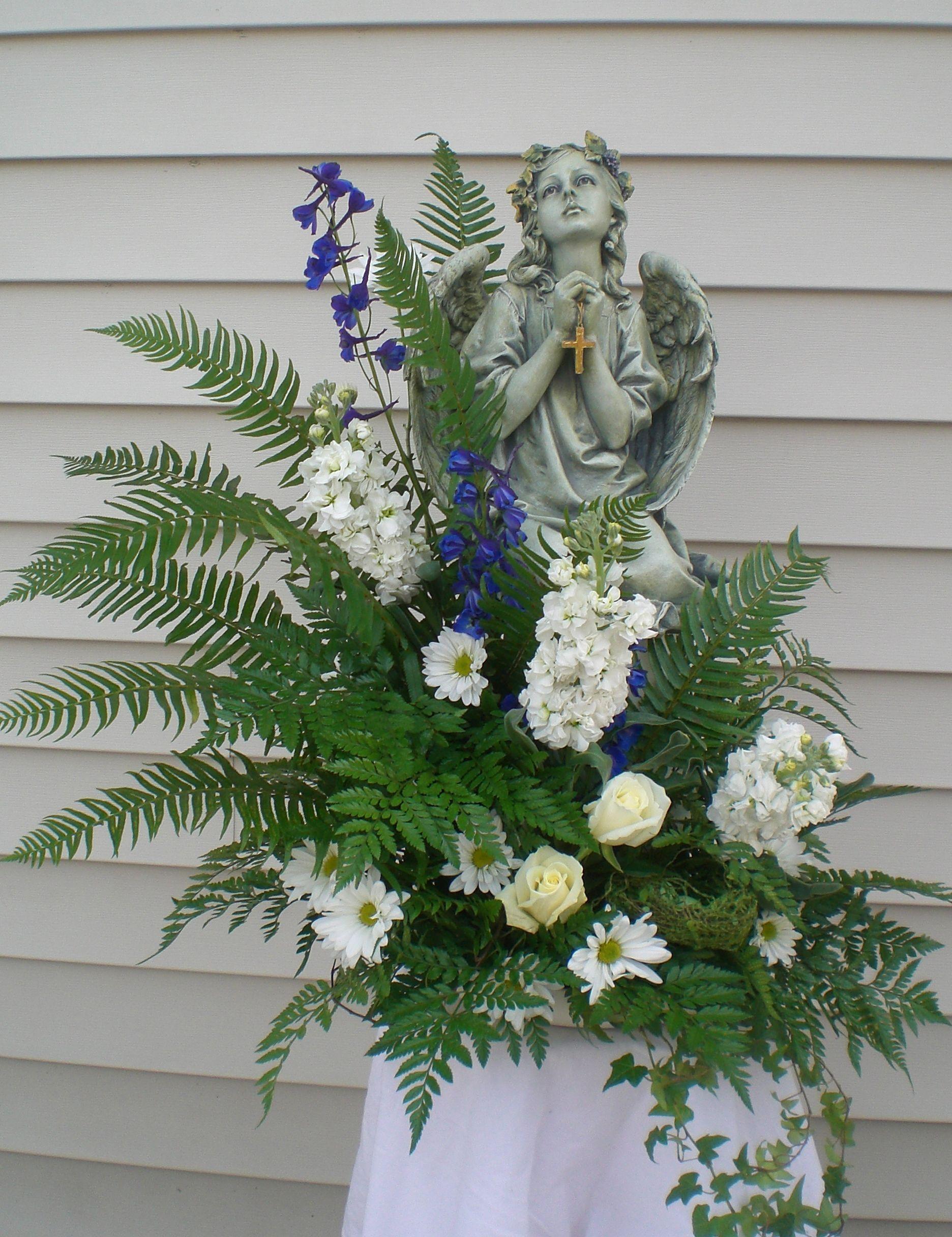 Angel Sympathy Flowers Funeral Flowers Pinterest Sympathy
