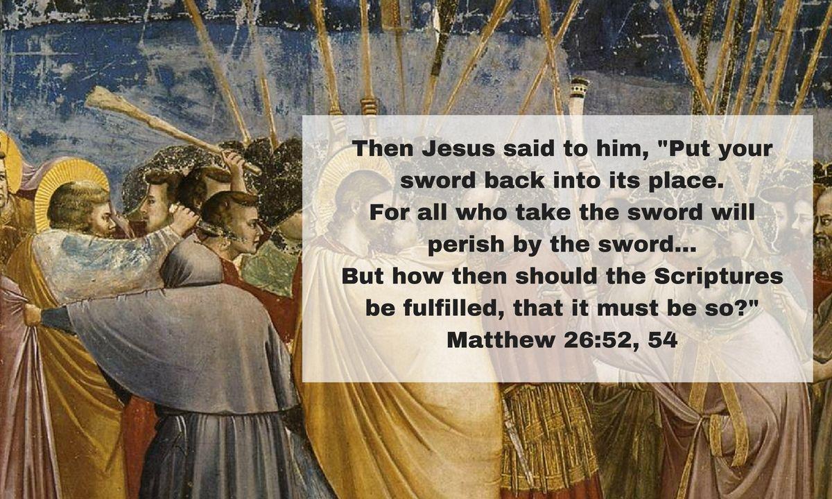 Jesus, Peter, and the Sword Jesus quotes, Spiritual