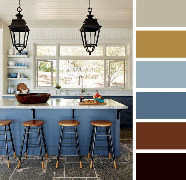 Earth Tone Kitchen Colors: 15 Designer Color Combinations To Help You Find Your