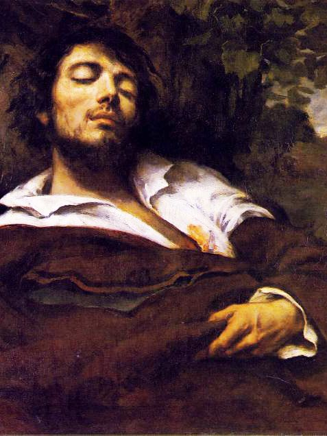 Gustave Courbet Wounded Man Self Portrait Courbet In 2019