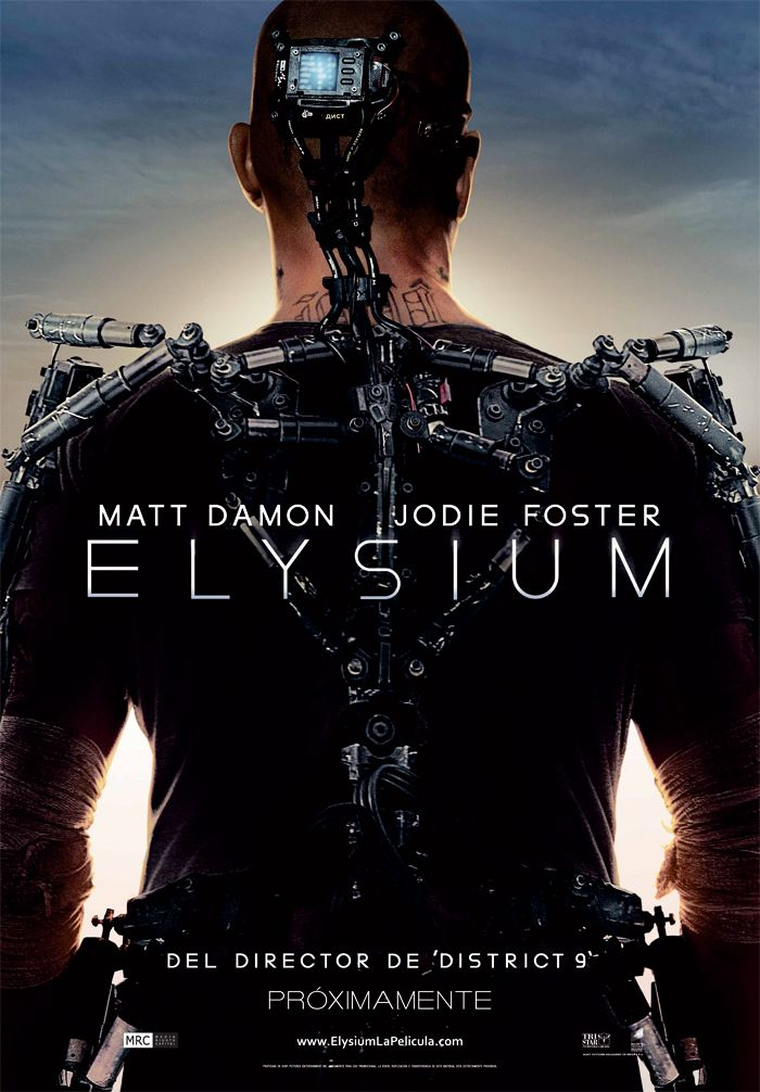 Perfect Weather To Go See A Movie Come See Elysium This Weekend