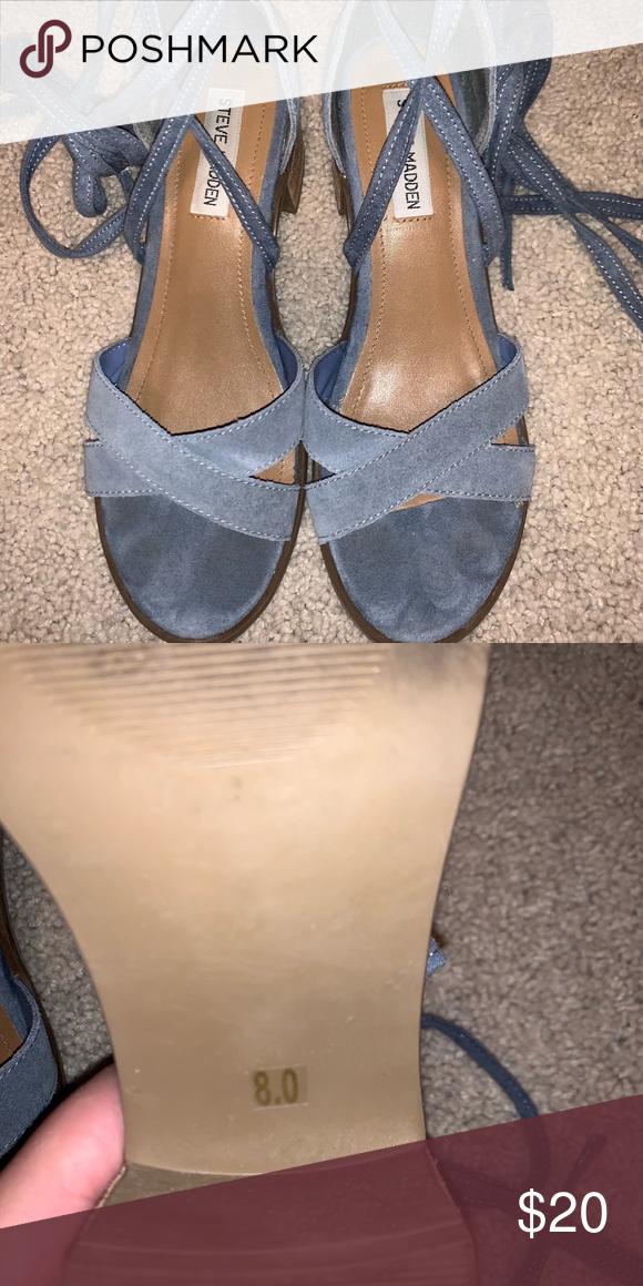 585c23fe1cf Steve Madden Kanzley sandal Brand  Steve Madden Size  8 Color  Light blue  Use