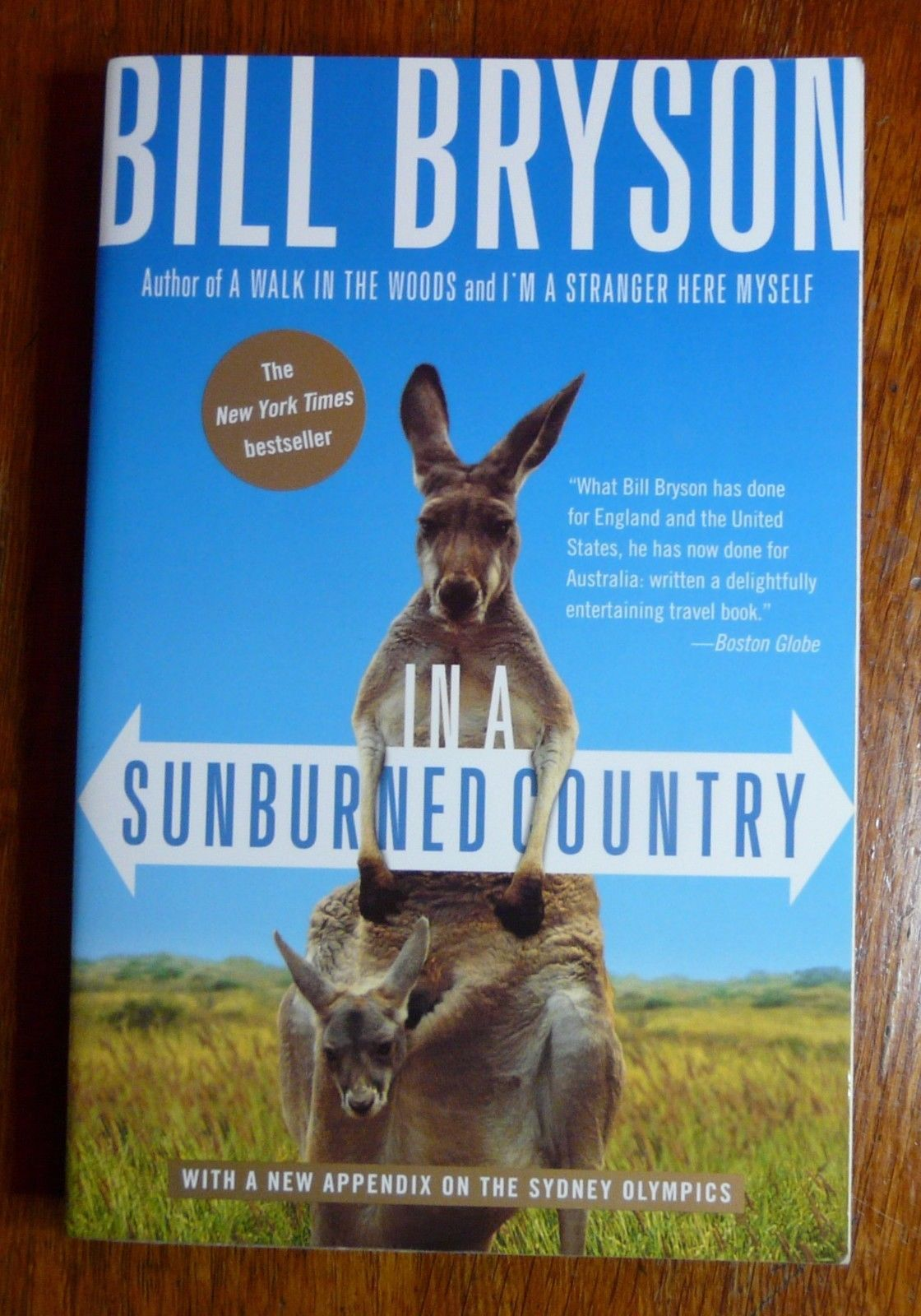 In A Sunburned Country Bill Bryson 2001 Broadway Pb Australia