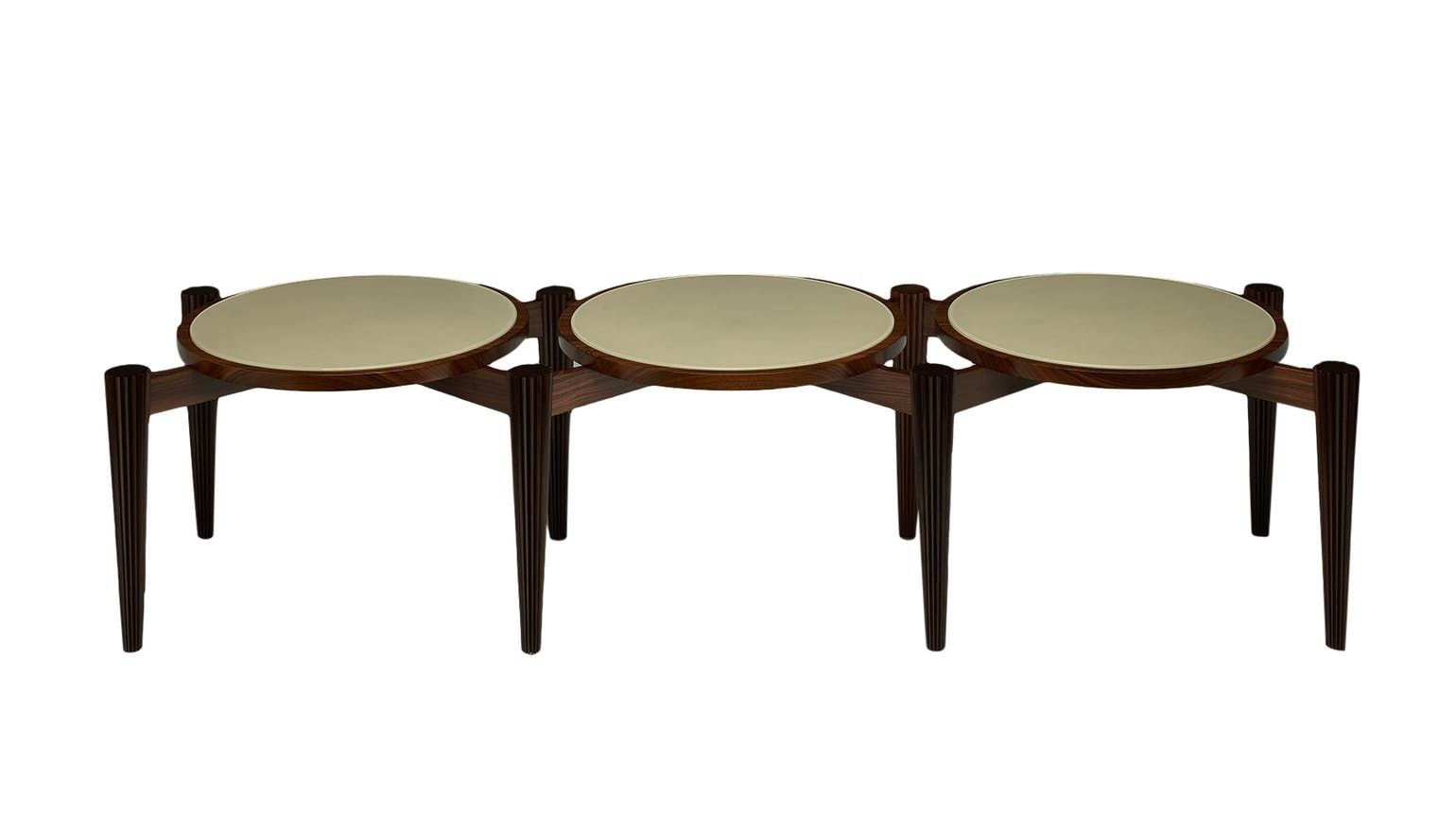 Transitional coffee table - Arachne Coffee Table Contemporary Transitional Midcentury Modern Art Deco Glass Wood