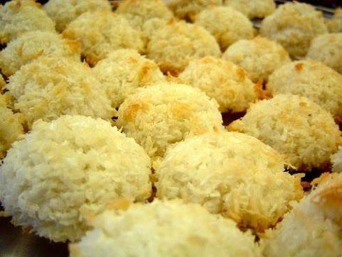 طريقة عمل شكلمة جوز الهند Scottish Recipes Coconut Macaroons Coconut Biscuits