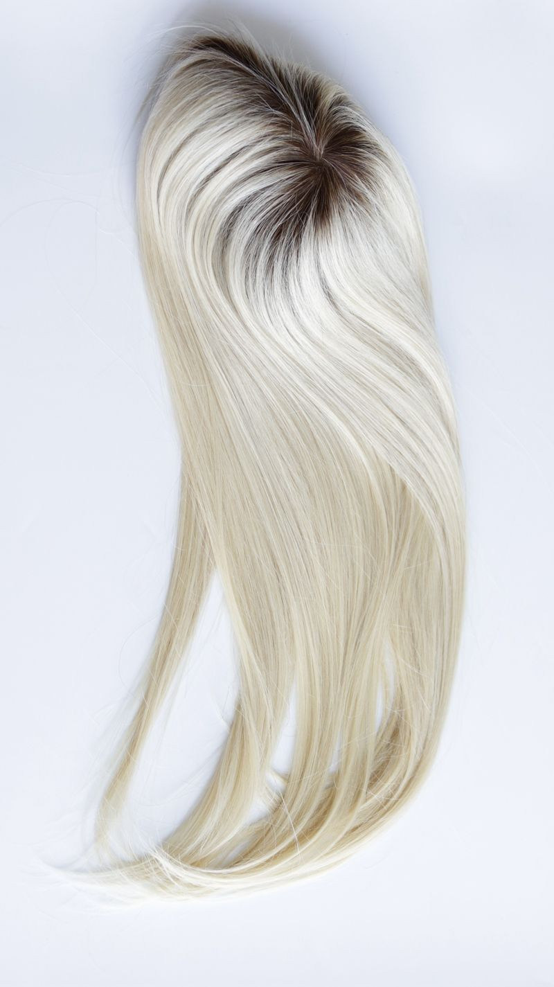Affordable 613 Platinum Blonde Ombre Real Human Hair Toppers For Volume Blonde Ombre Hair Toppers Ombre Hair