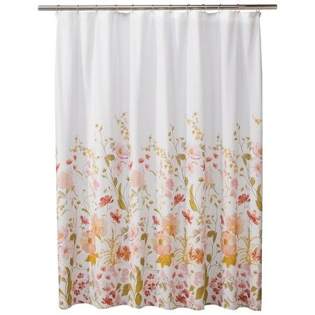 Threshold™ Wild Flower Shower Curtain   Pink : Target