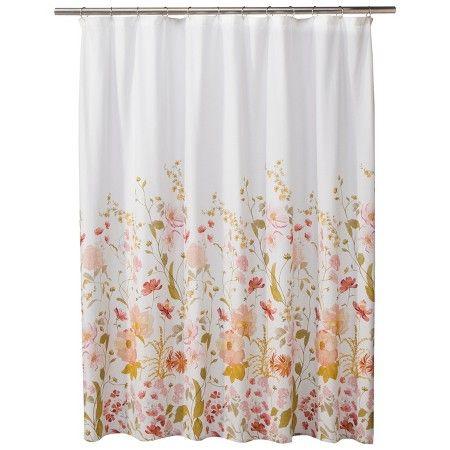 Threshold Wild Flower Shower Curtain Pink Target Flower