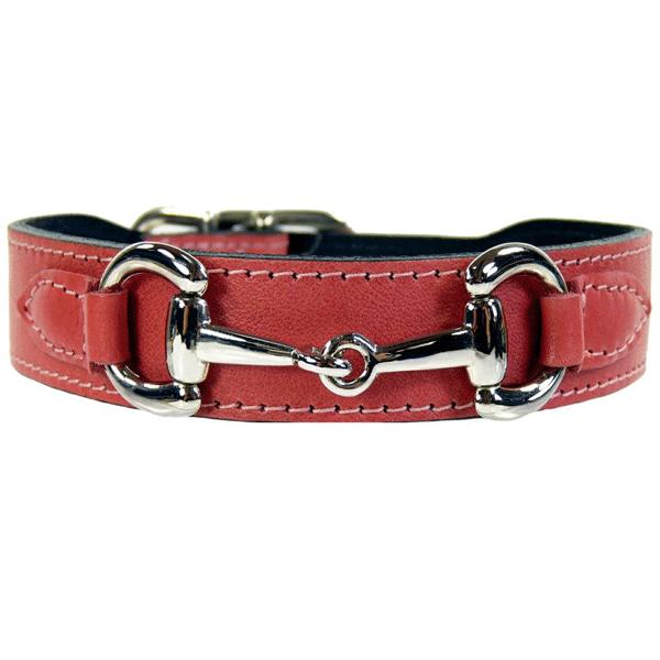Belmont Designer Dog Collar Leather Dog Collars Dog Collar Gucci Dog Collar