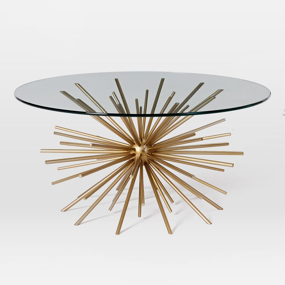 Starburst Coffee Table Glass Coffee Table West Elm Coffee Table