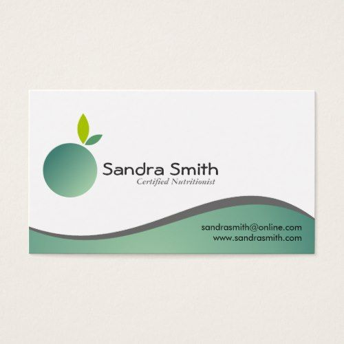 Nutritionist business cards dietitian pinterest business nutritionist business cards colourmoves