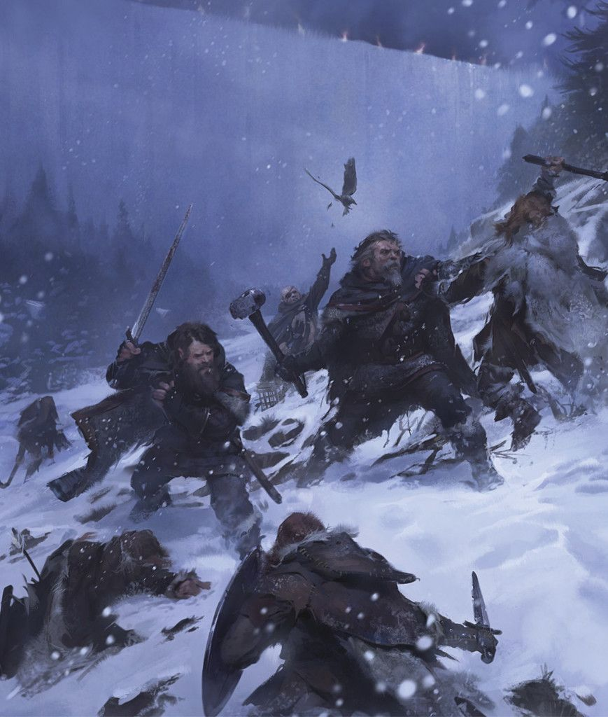 The Men Of The Nights Watch Guard The Immense And Icy Wall Built In The Ancient Days Of Westeros To Hold Back The Terrible Things Of The Long Night