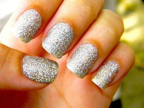 Silber Nägel