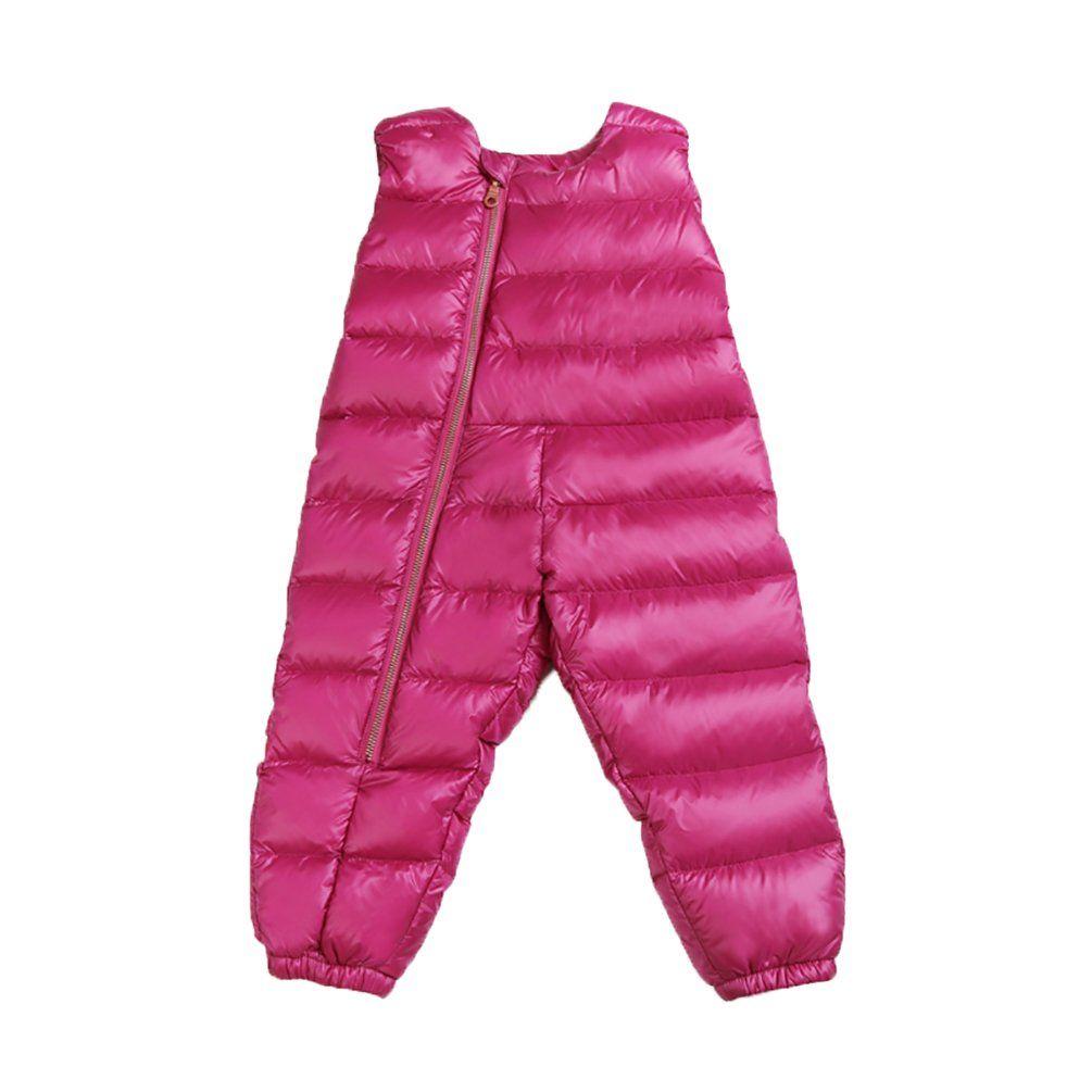 64132b4df06a Nanny McPhee Kids Overalls Winter Ski Bib Pants Unisex Baby Thick ...