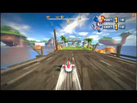 Sonic Sega All Stars Racing All Star Moves And Dlc Sonic All Star Racing