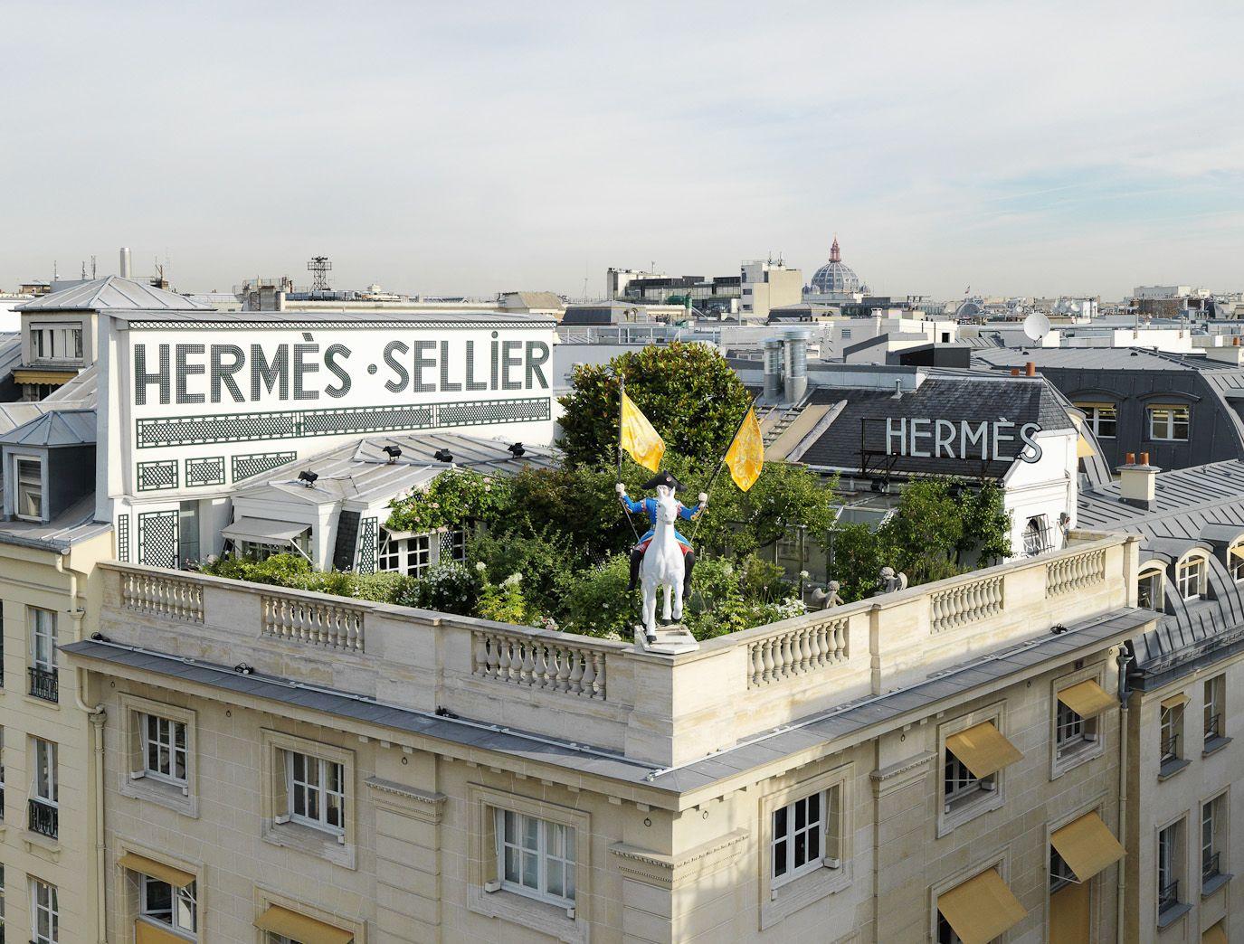 Hermes Un Jardin Sur Le Toit Review Paris Rooftops Roof Garden