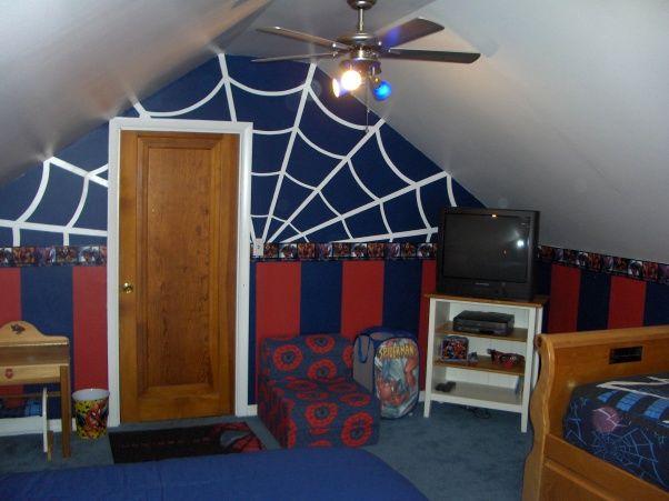 Decorative Spiderman Bedroom Set: Rooftop Spiderman Bedroom Ideas U2013 Daleao