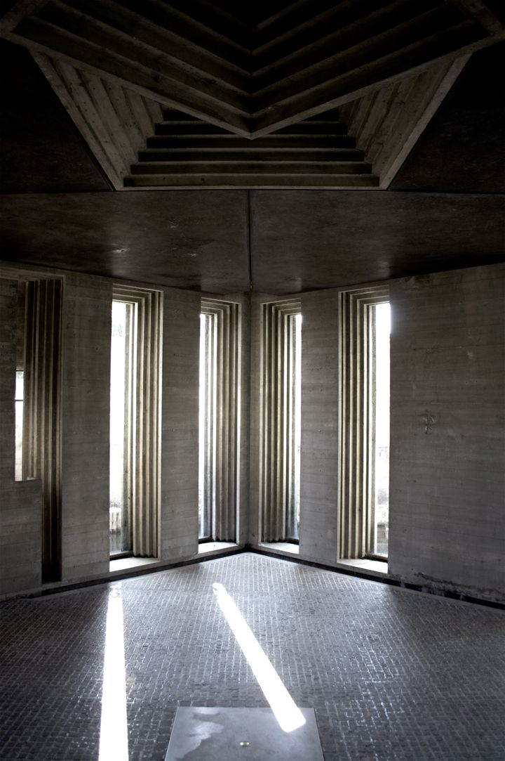 Carlo scarpa 39 s brion cemetery his photo was brought to you by - Brion design ...