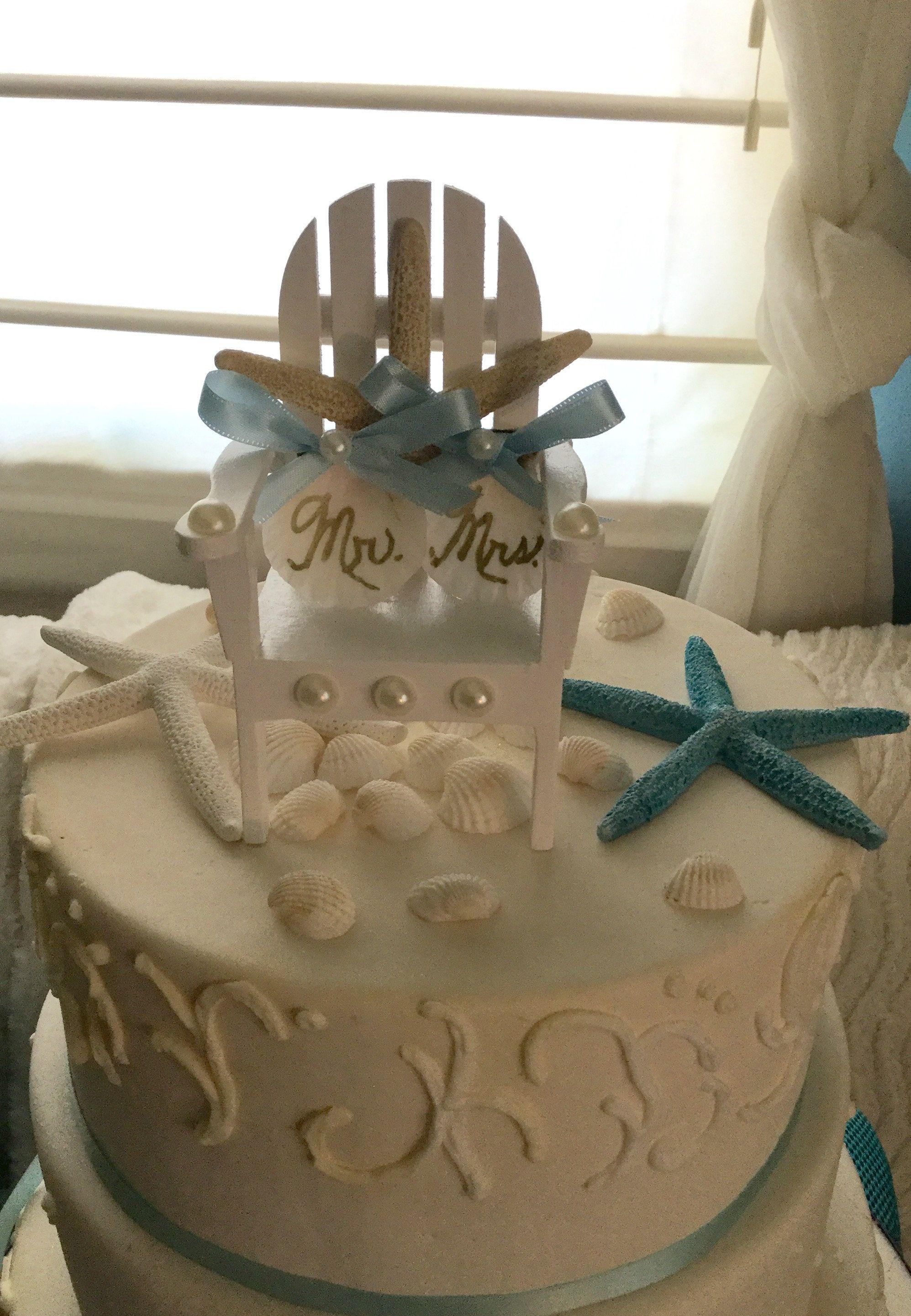 Adirondack Beach Wedding Chairs Adirondack Chairs Wedding Cake