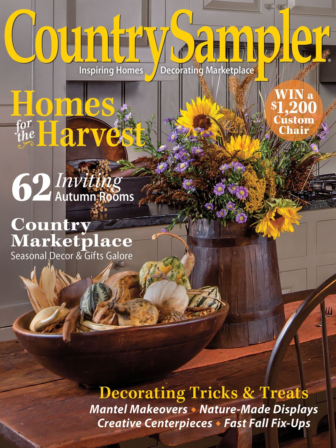 September Decorating Ideas Magnificent Our September Issue Is Chockfull Of Great Fall Decorating Ideas . Design Inspiration